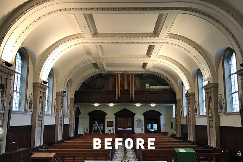 ROBUS COSMIC LED - St Joseph's Chapel, UK