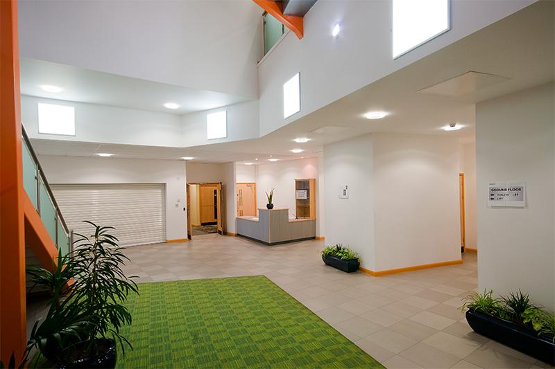 ROBUS LED Panels Warwickshire College