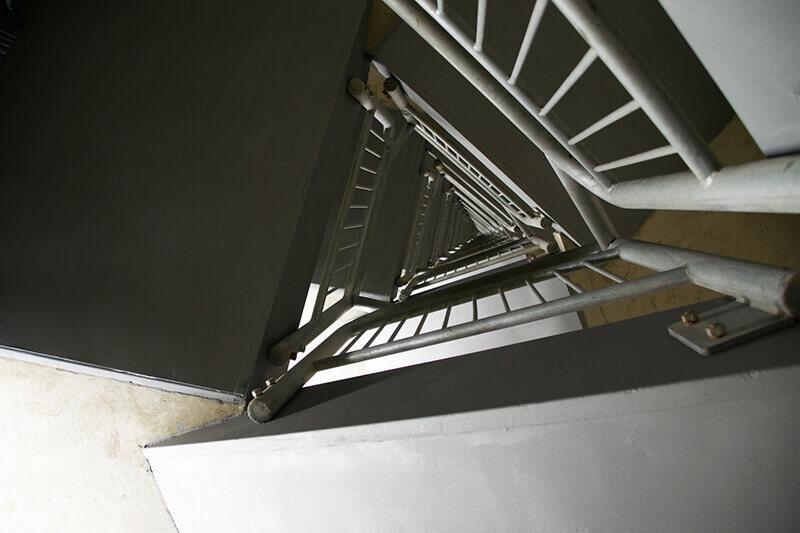 ROBUS Vulcan in Emirates Spinnaker Tower Stairwell