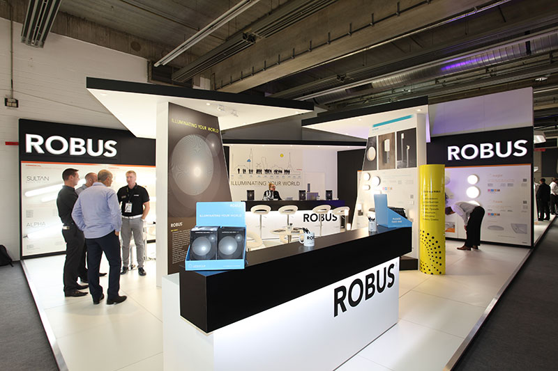 ROBUS flies the flag for Ireland at Light+Building