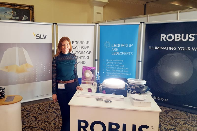 ROBUS is a hit at Ireland's Electrical Trade Event