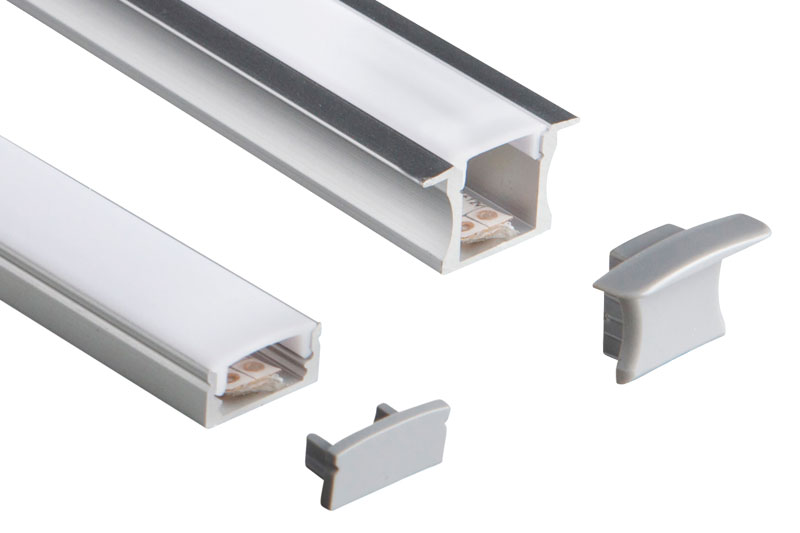 Vegas LED Flexi-strip aluminium extrusions | ROBUS